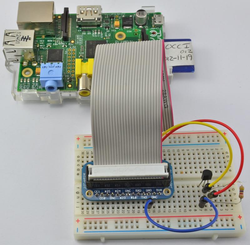 如何在树莓派上使用DS18B20来获取温度读数