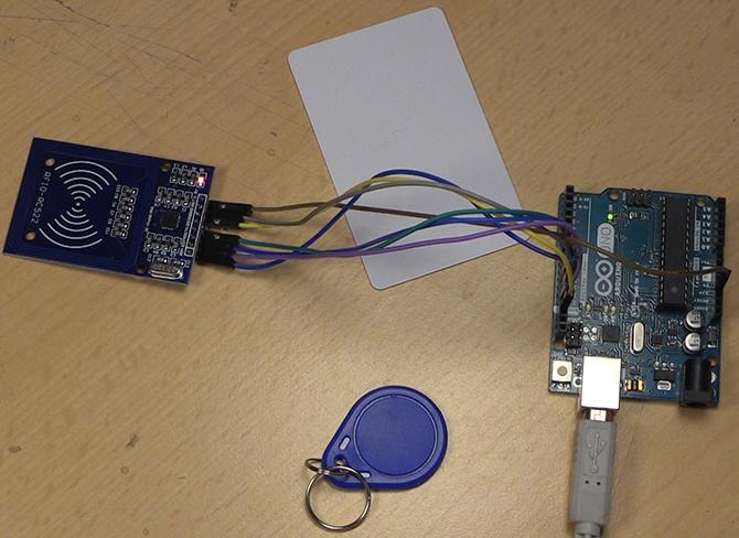 如何制作带Arduino和RFID的智能锁