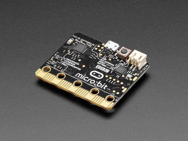 如何将micro:bit连接到无焊面包板