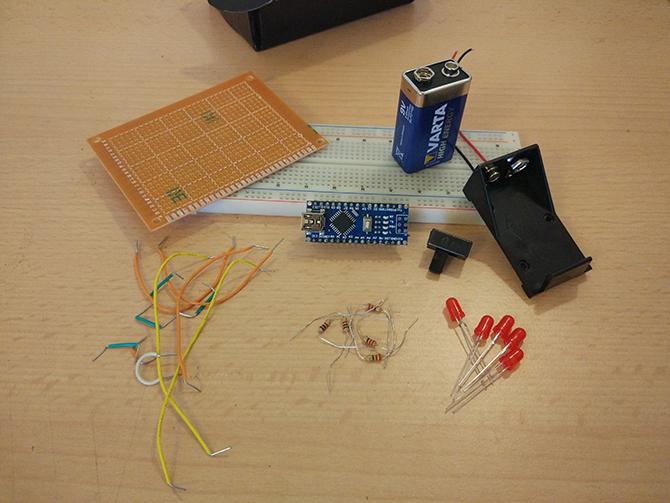 如何制作POV LED空气写入器