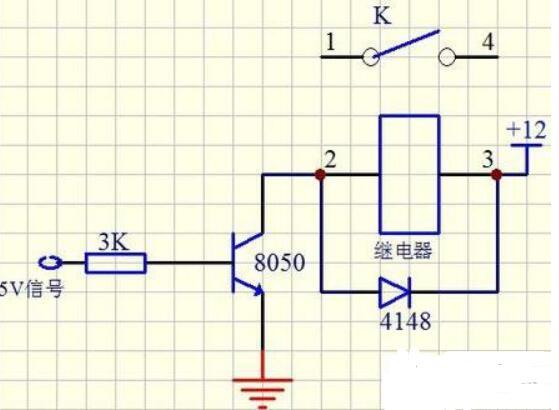 二极管和继电器并联的作用