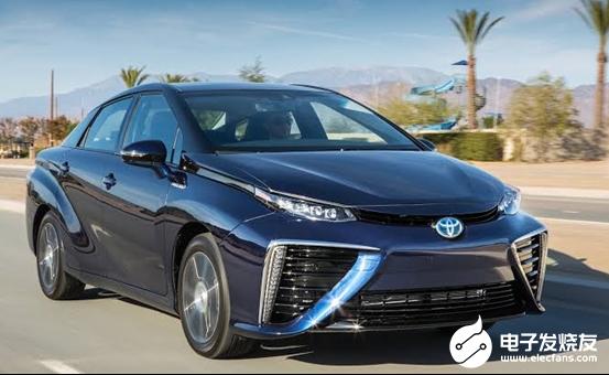 丰田氢能源共享汽车亮相 出行成本低的可怕