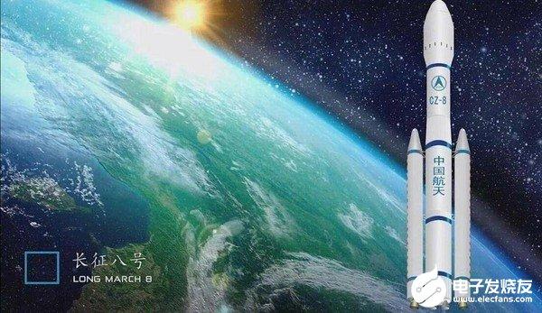 中国长征八号火箭首飞标越来越近了
