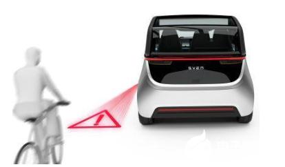 创新MLA技术将图像或图形投影路面,提高安全性和车辆功能