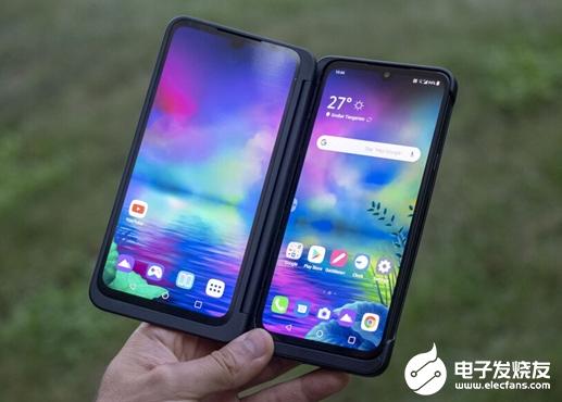 LG G8X ThinQ在中国台湾亮相 可变为双屏折叠手机