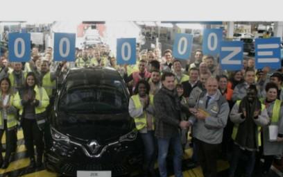 雷诺电动汽车ZOE最受欢迎,弗林斯工厂已生产20...