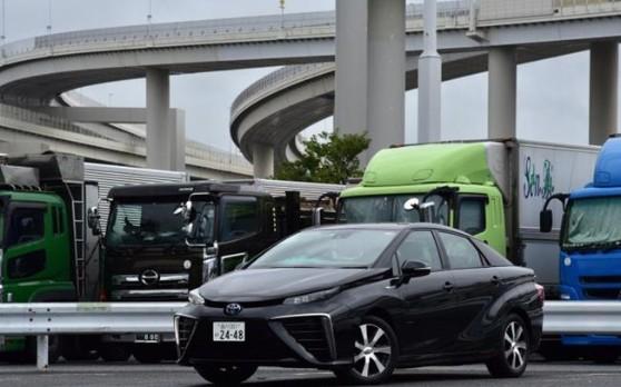 丰田mirai氢燃料汽车进入共享出行领域