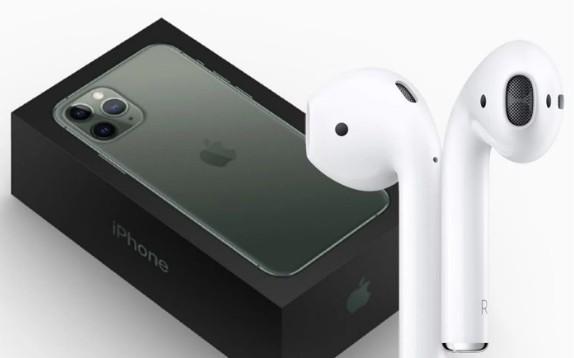 传苹果要将AirPods与新款iPhone一起销售