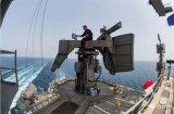 美国海军展示了最新型的AN/SPN-50型航空母舰空中管制雷达