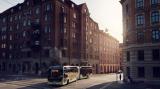 沃尔沃新型电动铰接式公交车,可降低80%的能耗