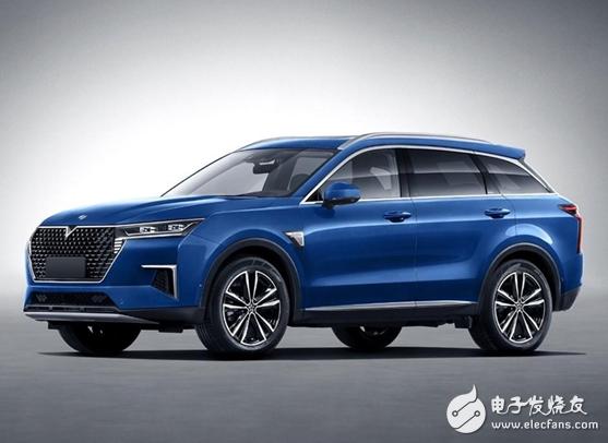 全新国产SUV曝光 采用了大量全新的设计元素
