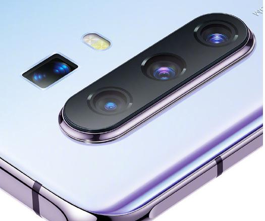 vivo X30系列采用了后置四摄设计最高可实现60倍变焦