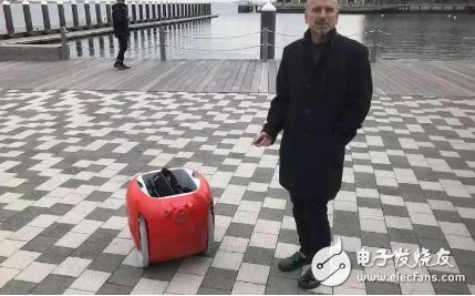 Gita是一个能够搬运杂货的载货机器人 有助于节...