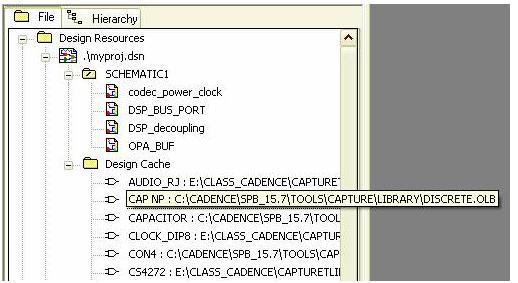 如何对OrCAD原理图中某一个元件进行批量替换