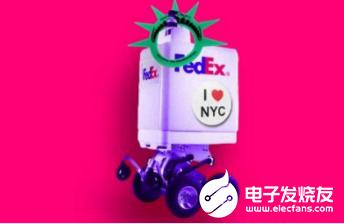 自动送货机器人目前并没有获得纽约市的街道测试许可