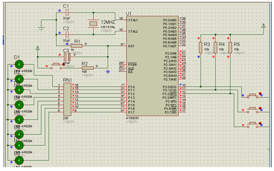 使用单片机设计的彩灯控制的C语言程序和工程文件免费下载