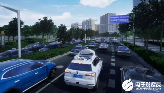 """腾讯开放自动驾驶仿真系统 高效地检验自动驾驶车辆的""""车技"""""""