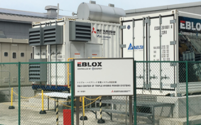 台达存储系统新应用,创新电源混合独立式电源系统