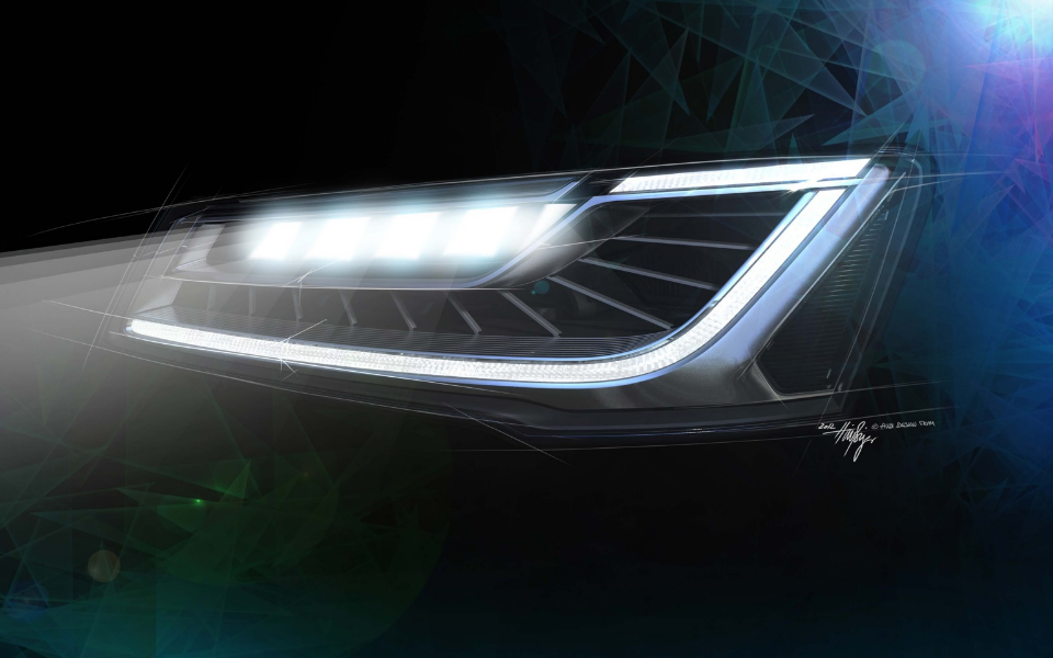 從TI新產品用例看智能汽車照明趨勢