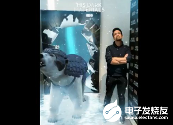HBO推出一款Snapchat AR镜头 为《H...