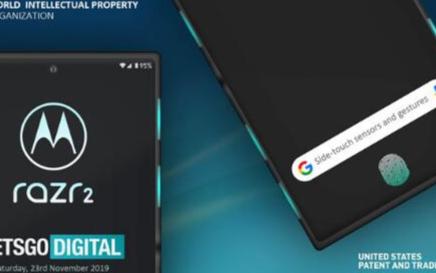 摩托罗拉Razr 2将搭载最先进的屏幕指纹触控技术