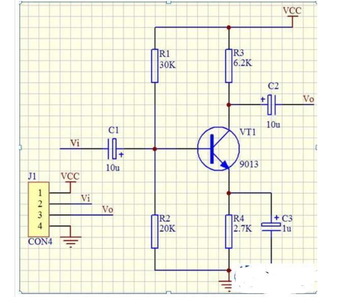 放大电路中直流电源的两个作用