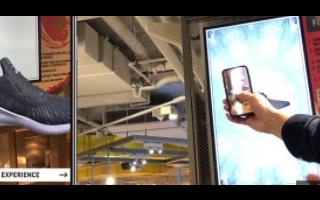 阿迪达斯iOS应用程序添加AR功能,可虚拟试穿球...