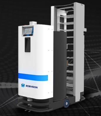 蓝芯科技智能移动拣货机器人实现智能拣货一站式解决