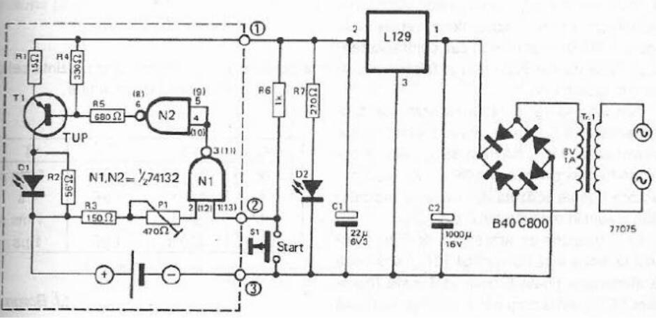 五款镍镉电池充电器电路图