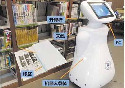 机器人在图书馆正式上岗,海量图书管理更省心