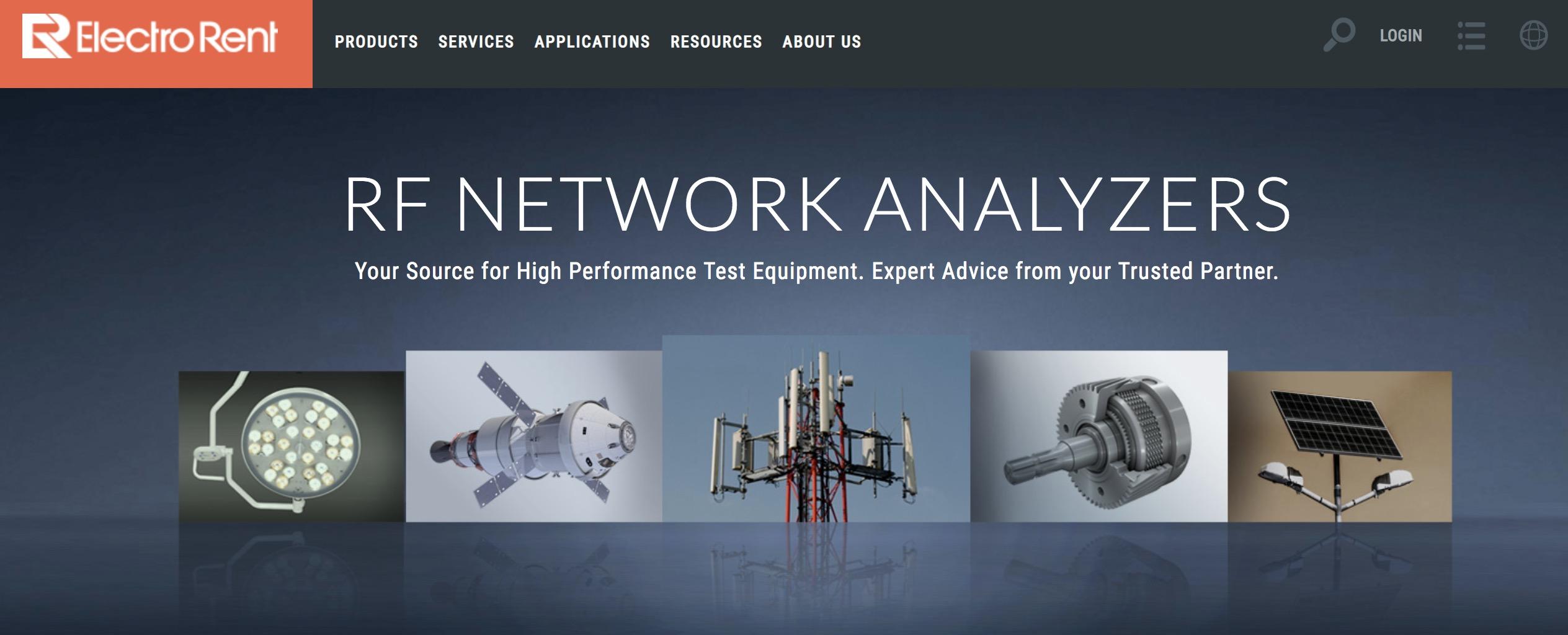 益莱储产品盘点(一) | 网络分析仪