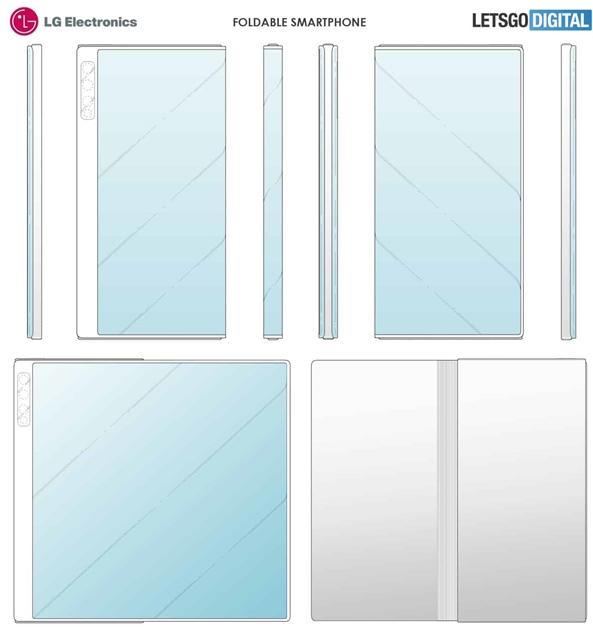 LG折叠屏设计专利曝光类似于华为Mate X