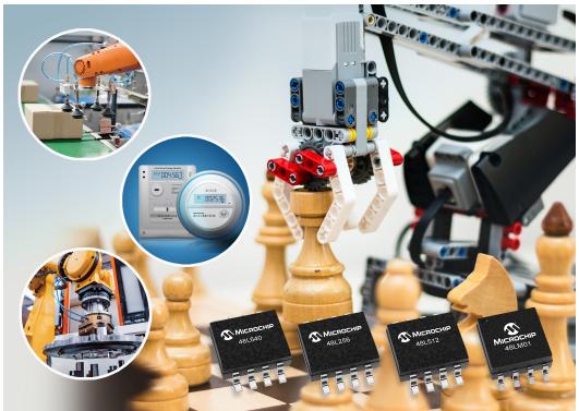 Microchip全新EERAM存儲器解決方案,可降低存儲器成本