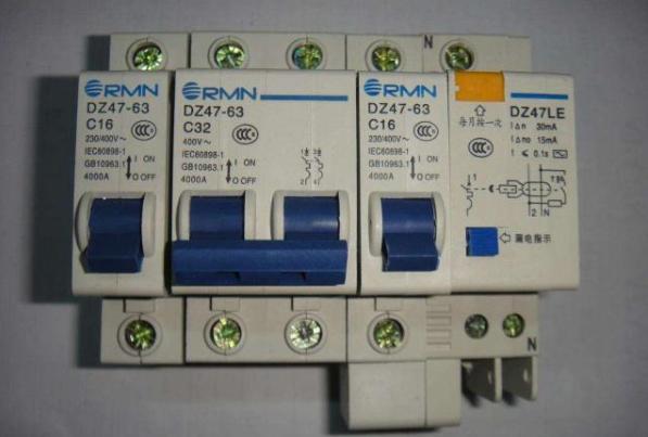 漏电开关和空气开关的区别及正确配置方法