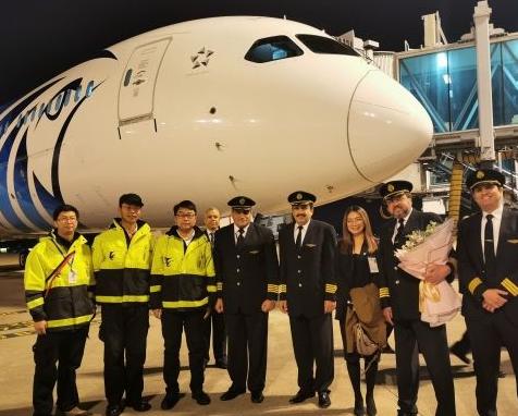东航技术浙江分公司与埃及航空开启了飞机维修合作
