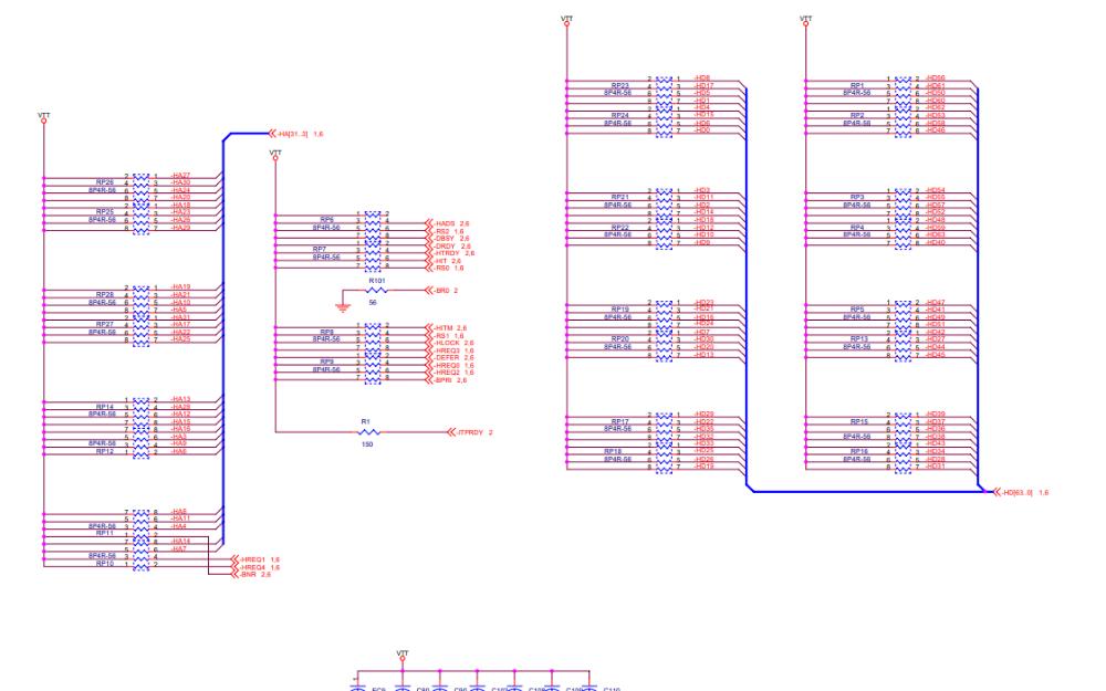 华硕815E笔记本电脑的电路原理图免费下载