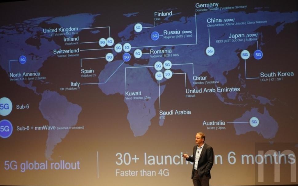 高通:中国5G网路技术发展并未超越美国