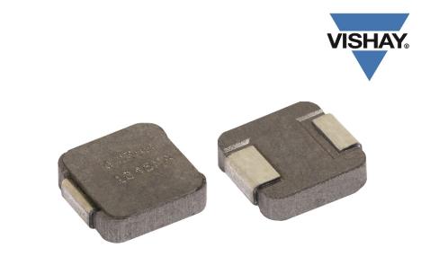 Vishay推三款小型商用電感器,工作溫度可達+155 °C,高度僅為1.0 mm