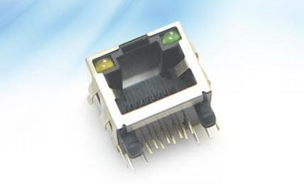 影响RJ45连接器PIN针接触电阻可靠性的因素