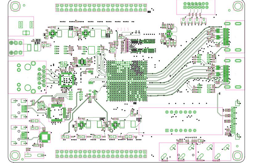 黑金AX7035 FPGA开发板PCB原理图免费下载
