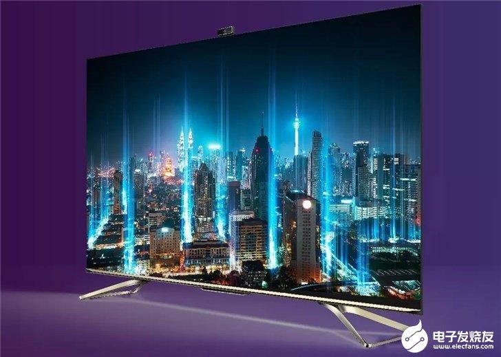 海信互联网电视服务破5000万,近月多款电视新品展出与推出