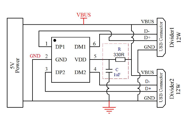 CX2901A USB充电协议端口控制芯片的数据手册免费下载