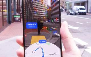 事实证明Google Maps AR模式比GPS...