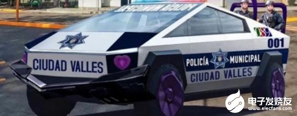 特斯拉皮卡受警方青睐,墨西哥市长决定购买15辆改装成警车