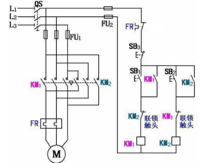 380v空压机实物接线图