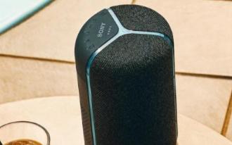 索尼发布新品智能音箱,内置AI芯片+IP67级防尘防水