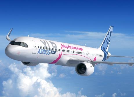 美联航计划从2024年开始接收空客A321XLR飞机