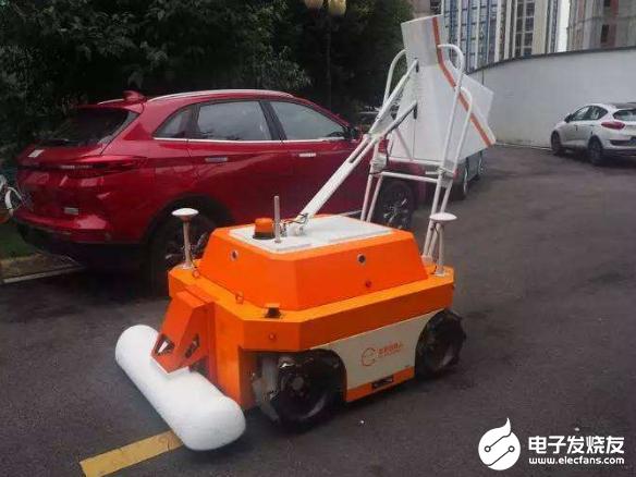 海南省引进圭目机器人 用来对病害公路进行深度检测