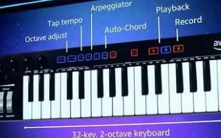亚马逊推出DeepComposer音乐键盘,AI技术驱动