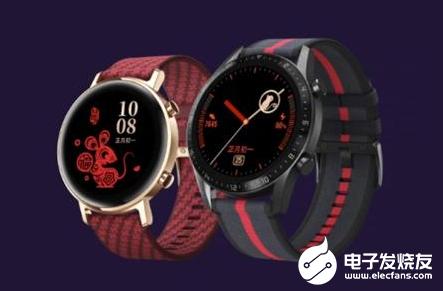 华为发布Watch GT2新年款,外观喜庆还支持微信红包提醒
